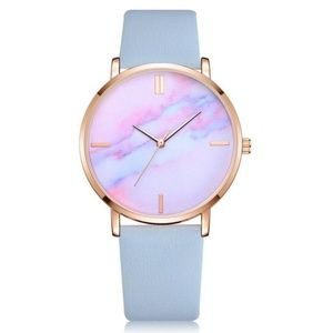 Accessories - NEW Blue Marble Quartz Watch